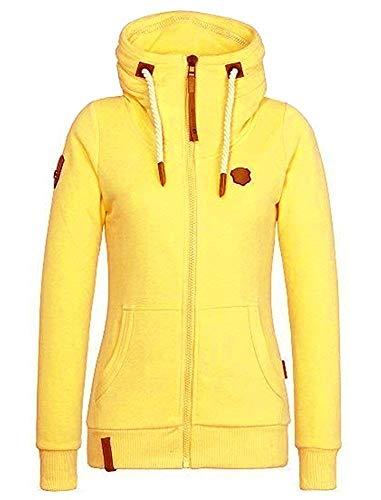 Shallgood donna autunno inverno felpa con cappuccio zip manica lunga overcoat giacca pullover hoodies cappotto outerwear cerniera giubbotto sweatshirt