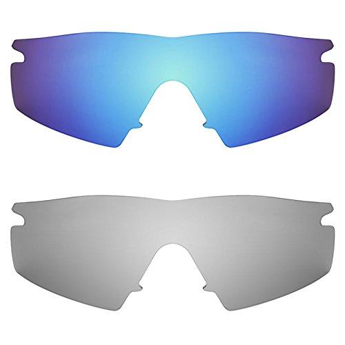 Revant Ersatzlinsen für Oakley M Frame Strike Polarisiert 2 Paar Kombipack K004
