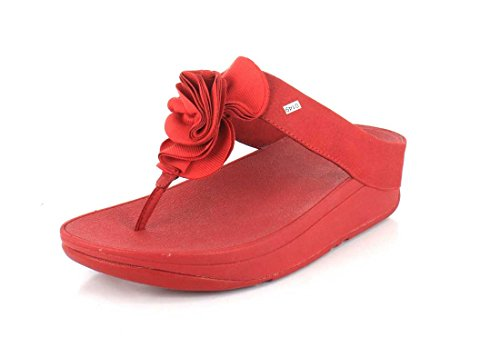 Florrie FitFlop Sandali Punta Post Classico Rosso Classico Rosso