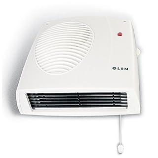 Glen 2 KW Wall Mounted Downflow Fan Heater
