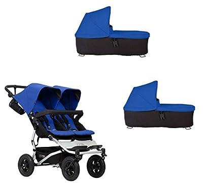 Mountain buggy Duet Buggy V3como doble asiento de Buggy + 2Baby rígida–Marino