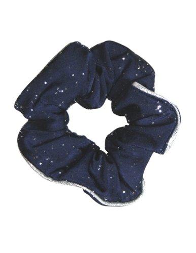 The Zone Cosmic chouchou en nylon élasthanne brillant, bleu marine