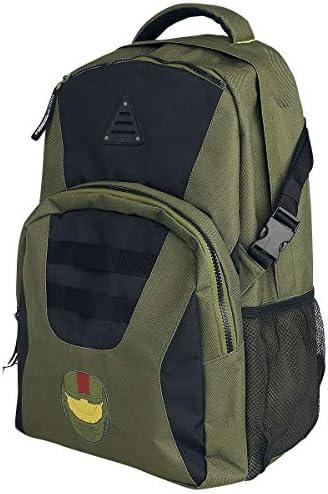 Halo Spartan John-117 Sac Sac Sac à Dos Vert/Noir 17f02f