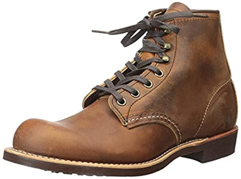 Red Wing Mens 3343 Blacksmith Brown Leather Boots 40 EU