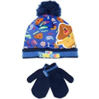 Hey Duggee Boys Squirrel Club Hat and Gloves Set One Size
