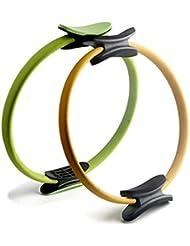 jjyoga Anillo de Pilates Magic Circle doble agarre artículos deportivos Yoga Ejercicio Fitness