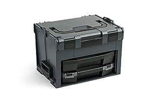 Bosch Sortimo LS-Boxx 306 anthracite avec i-Boxx 72 H3 et tiroir de ls 72 + 1 L boxx mini-