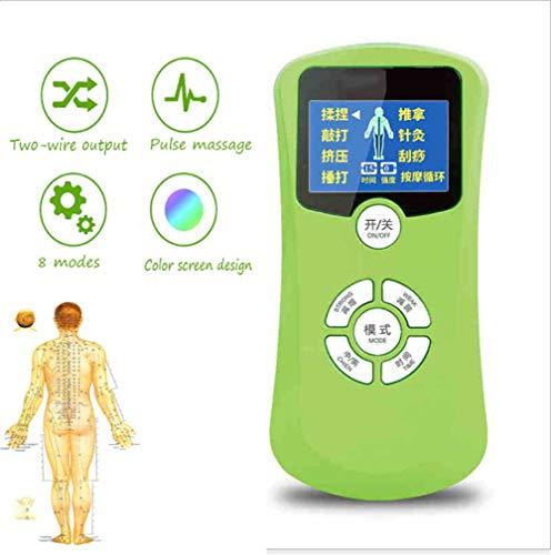 Estimulador Muscular Mini Conveniente para Llevar 8 Tipos De Carga USB En Modo Masaje Dolor De Cervical...