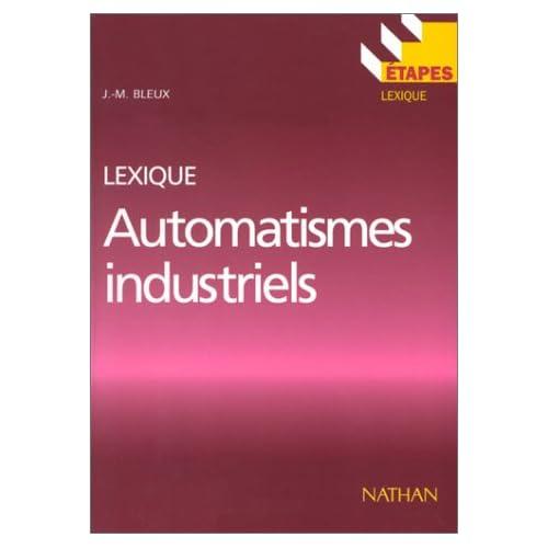 Automatismes industriels : Lexique