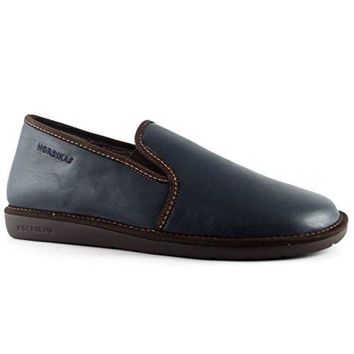 Noble Nordikas III pantofole da uomo, Blu (Marino), 40