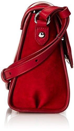 HUGO Faith 10193730 01, Sacs Bandoulière Femmes, 8x20x17 cm Rouge (Open Red 646)