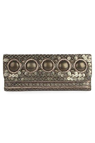 MyBatua Anna Antique Pochette Argent Petite Taille Coton Sac ACP-485