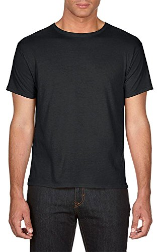 Anvil Featherweight Tee Black