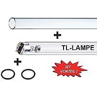 PURITEC HNS G13-30W UV-C Ersatzbrenner Lampe Osram UVC Lampe 2 Stück