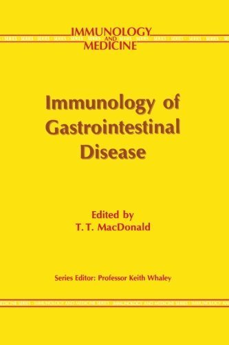 Immunology of Gastrointestinal Disease (Immunology and Medicine) (1992-02-29)