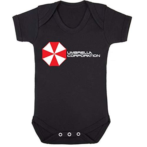 Cloud City 7 Resident Evil Umbrella Corporation Logo Baby Grow Short Sleeve