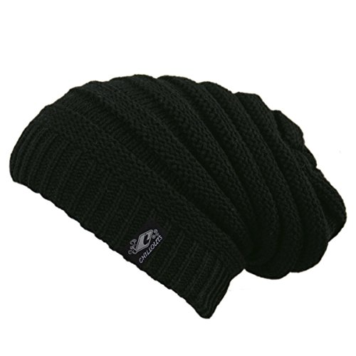 CHILLOUTS Erwachsene Mütze Brian Hat, Black, One Size, 3570