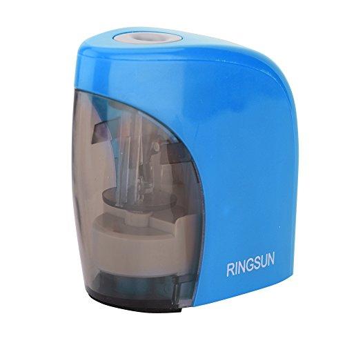 Eboxer temperamatite elettrico, heavy duty automatico, batteria e alimentato via usb, perfetto per casa, ufficio e scuola(blu)