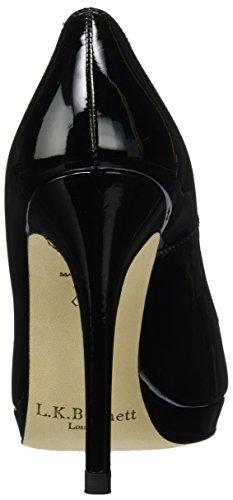 LK BENNETT New Sledge, Scarpe con Tacco Donna Nero (Black-black)