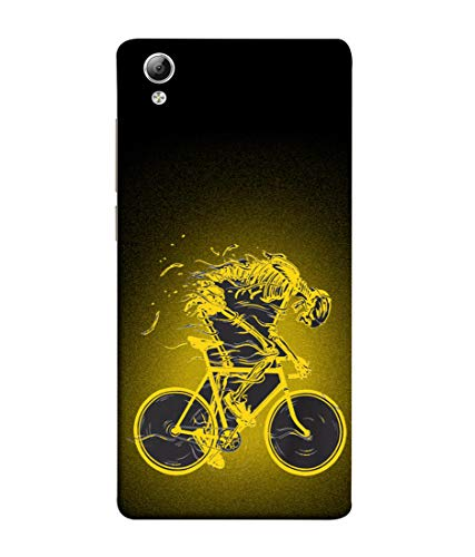 Tivesh Amazing Designer Back Case Cover for VIVO Y51L with The Unique Design of Bycycle Fast Running Printed Back coverWith The Beautiful Multicolor Colour