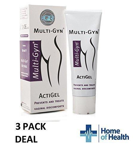 MultiGyn Actigel 50ml **3 PACK DEAL** by MultiGyn