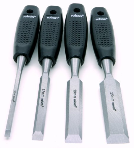 Rolson 56159 Wood Chisel Set - 4 Pieces Test
