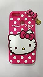 Qzey Girls Choice Hello Kitty Case Cover For One Plus 5T/1 Plus 5T -Pink