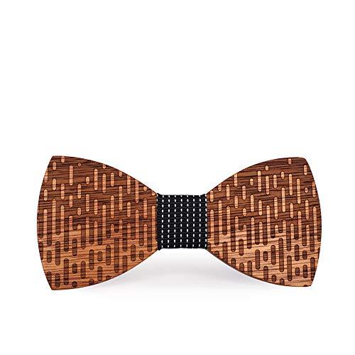 Kostüm Hunde Gute Mensch - YAOSHI-Bow tie/tie Krawatten und Fliegen für Persönlichkeit geometrische Moire Streifen Business Fliege Kostüm Party Bowknot ist weiblich Krawatten und Fliegen für