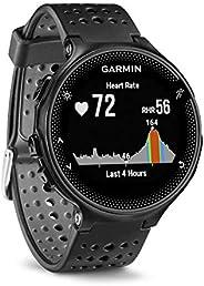 Garmin Forerunner 235 GPS Sportwatch con Sensore Cardio al Polso e Funzioni Smart, Cinturino in silicone, Nero