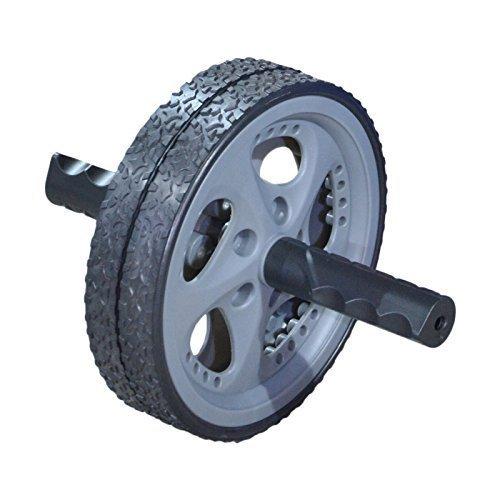 TrainHard AB-Roller Bauchtrainer Arm Rücken Trainer schwarz ca. 25x18x18cm