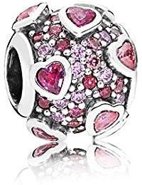 Pandora Women Silver Bead Charm - 796555CZSMX