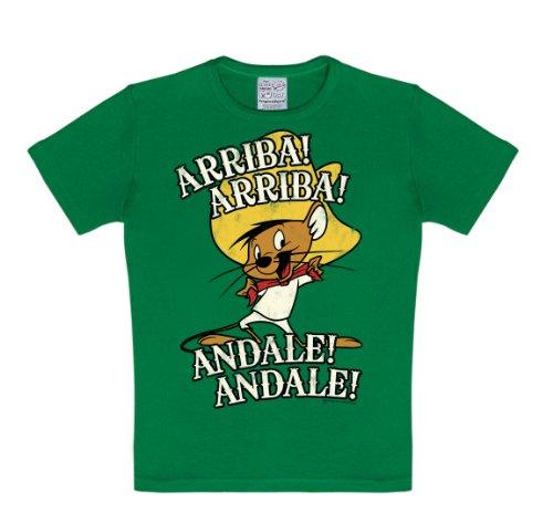 Logoshirt Looney Tunes - Arriba! Andale! - Tee-shirt mixte enfant - Vert - 18 m