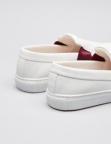 FIND Damen Slip-On Sneaker Weiß (White)