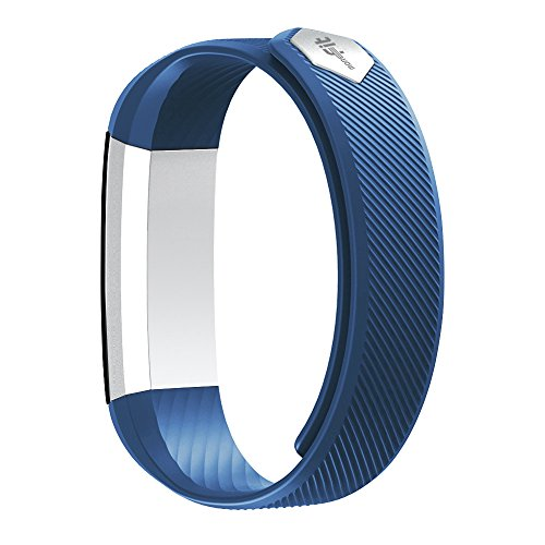 moreFit Slim Fitness Tracker with Touch Screen Best Fitness Wrist Band Pedometer Smartband Sleep Monitor Watch for Easter Gift, Blue