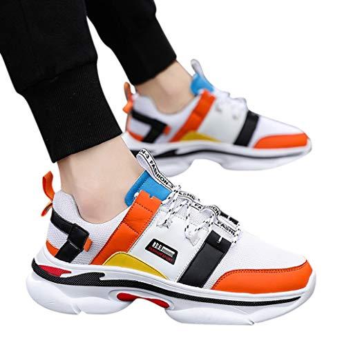 TWBB Herren Straßenlaufschuhe Laufschuhe Beiläufig Atmungsaktiv rutschfeste Mode Lässig Sneaker Sportschuhe Wanderschuhe größe 38-46 -