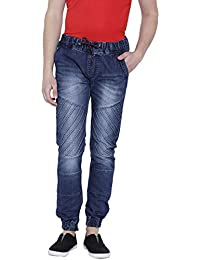 TRIBEWEAR Slim Fit Stretchable Denim Jogger Jeans For Men
