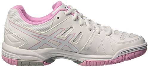 Asics Gel-Dedicate 4 W, Chaussures de Tennis Femme Multicolore (White/Cotton Candy/Plum)