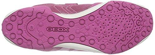 Geox Jr Tale A Mädchen Low-Top Violett (FUCHSIA/PINKC8230)