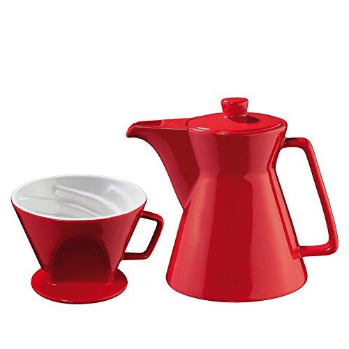 Cilio Kaffeekanne+Kaffeefilter Vienna Amarena