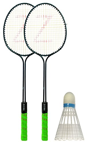 Klapp Badminton Set (Pack of Two Racquet and 1 Shuttlecock)