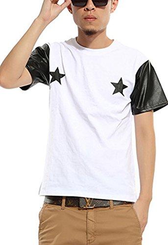 pizoff-unisex-hip-hop-t-shirts-mit-kunstleder-armel-und-stern-druckmuster-y0302-white-xl-p