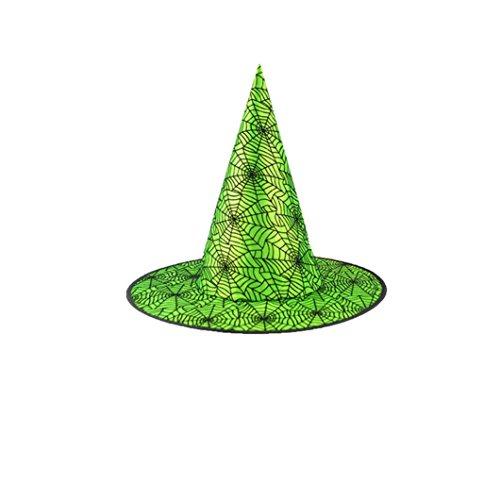 dult Womens Black Witch Hut für Halloween Kostüm Zubehör Cap By JIANGFU (C) (Animierte Halloween-geschichten Für Kinder)