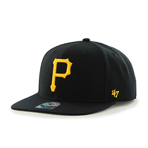 47 Unisex, Baseball Cap, MLB Pittsburgh Pirates Sure Shot '47 Captain Black