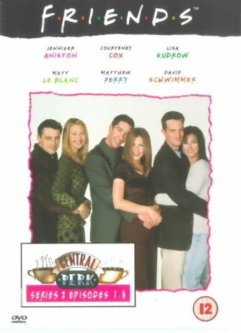 Click for larger image of Friends - Series 2 - Episodes 1-8 [DVD] [1995]