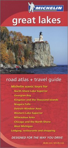 Michelin Great Lakes Road Atlas & Travel Guide