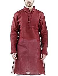 Royal Kurta Men's Cotton Blended Long Kurta's