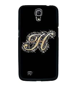 PrintVisa Bling Alphabet H High Glossy Designer Back Case Cover for Samsung Galaxy Mega 6.3 I9200 :: Samsung Galaxy Mega 6.3 SGH-i527