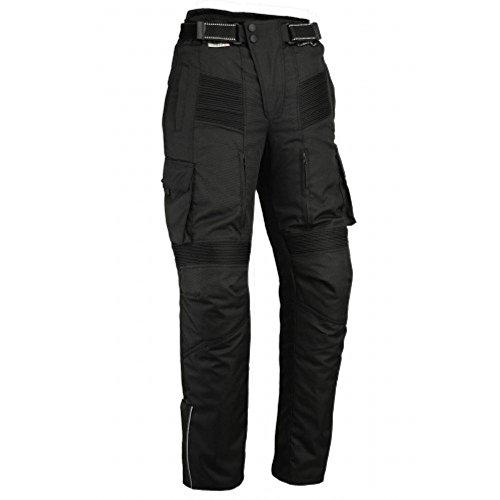 Australian Bikers Gear Pantalon moto tipo Cargo con bolsillos laterales y con...