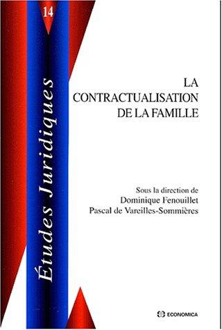 La contractualisation de la famille