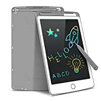 LCD Writing Tablet, Tecboss 8.5 Inch Kids Drawing Tablet Colour Large Erasable Digital Drawing Pad Doodle Board, Gift For Kids Adults Home School Office